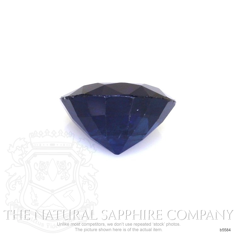 Natural Untreated Blue Sapphire B5584 Image 2