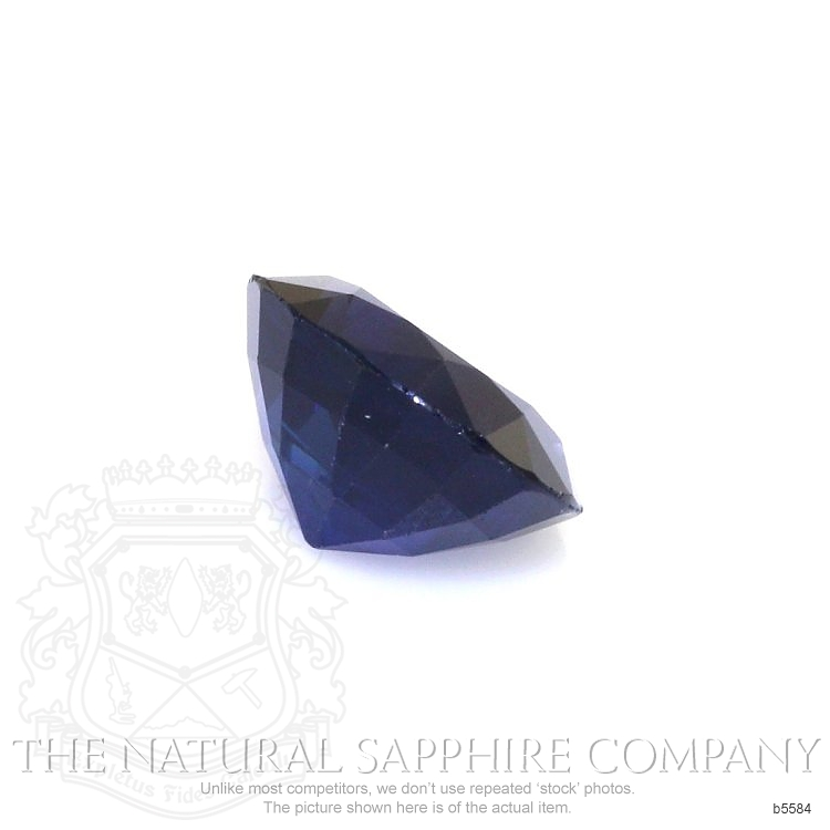 Natural Untreated Blue Sapphire B5584 Image 3