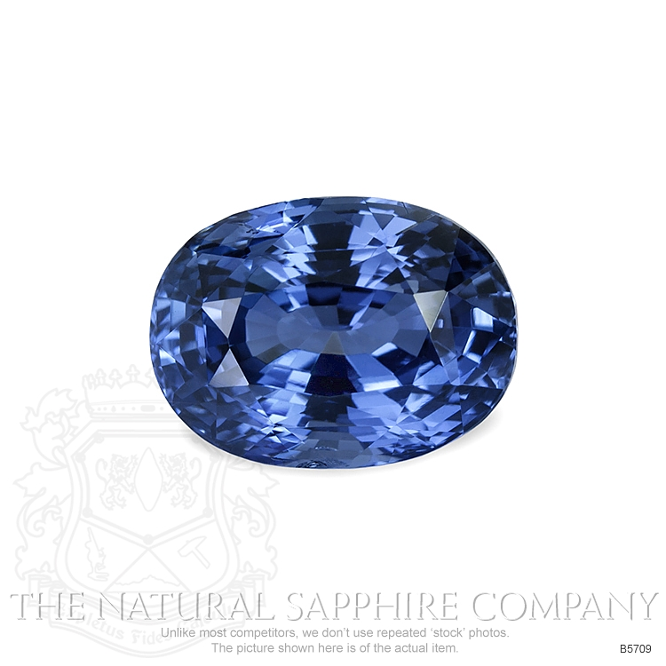 Natural Untreated Blue Sapphire B5709 Image