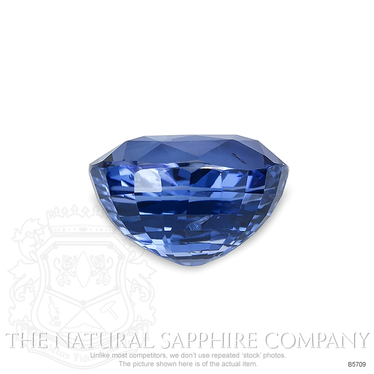 Natural Untreated Blue Sapphire B5709 Image 2