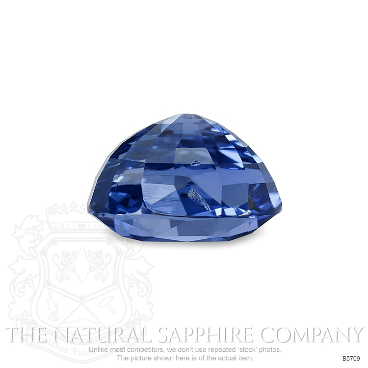 Natural Untreated Blue Sapphire B5709 Image 3