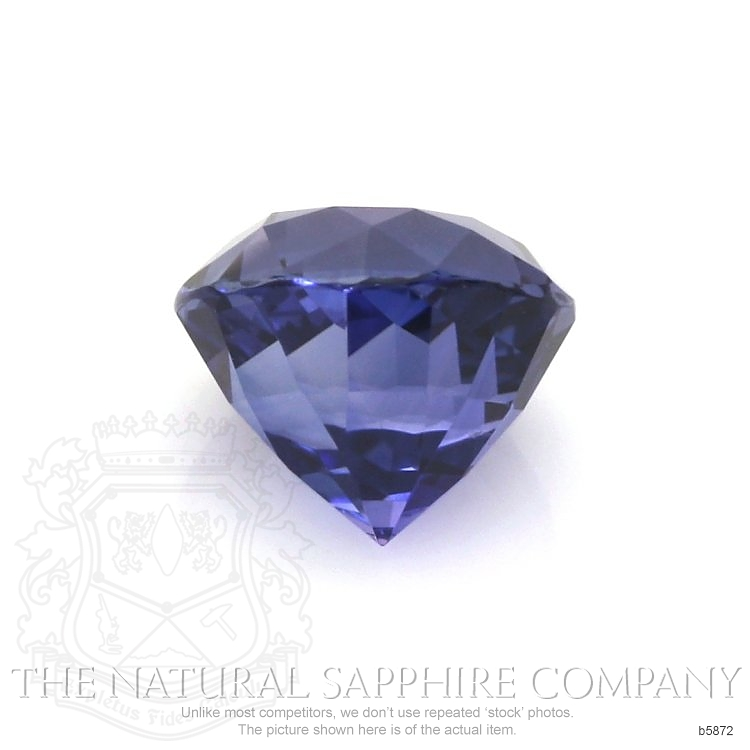 Natural Untreated Blue Sapphire B5872 Image 2