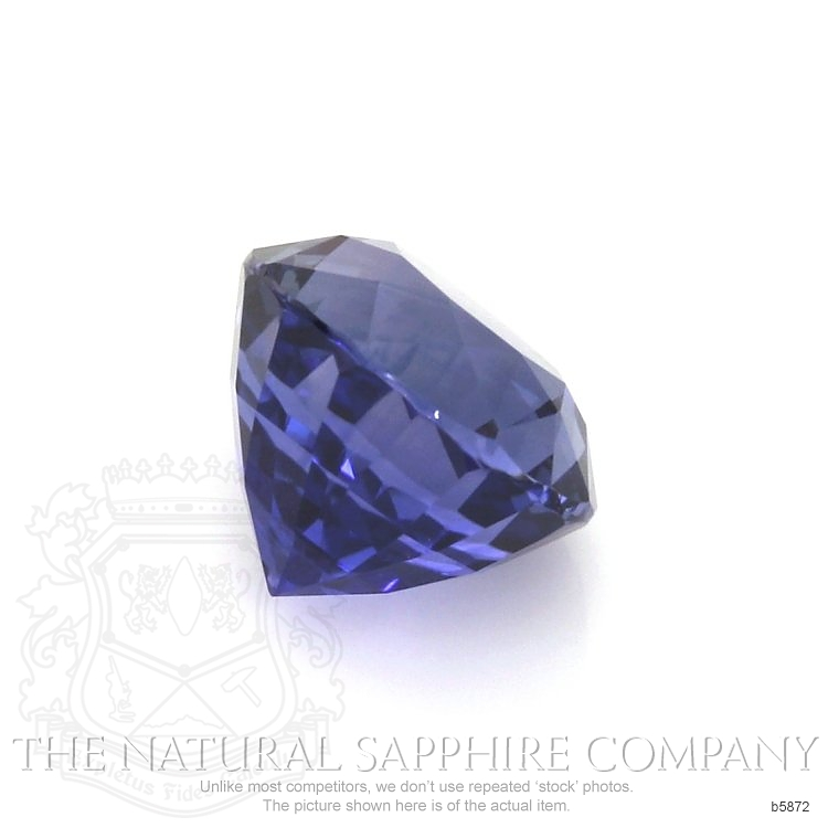 Natural Untreated Blue Sapphire B5872 Image 3