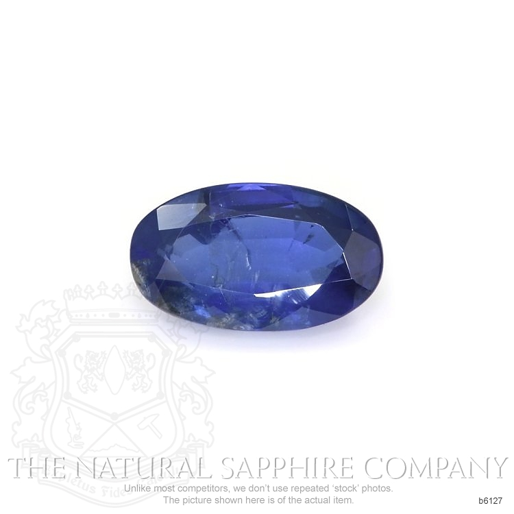 Natural Untreated Blue Sapphire B6127 Image