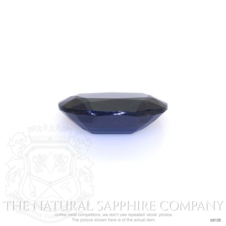 Natural Untreated Blue Sapphire B6135 Image 2