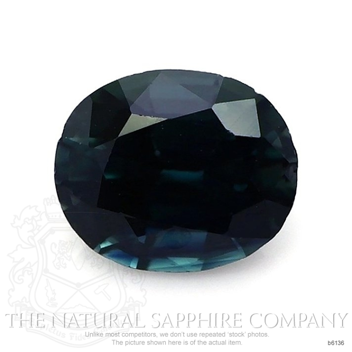 Natural Untreated Blue Sapphire B6136 Image