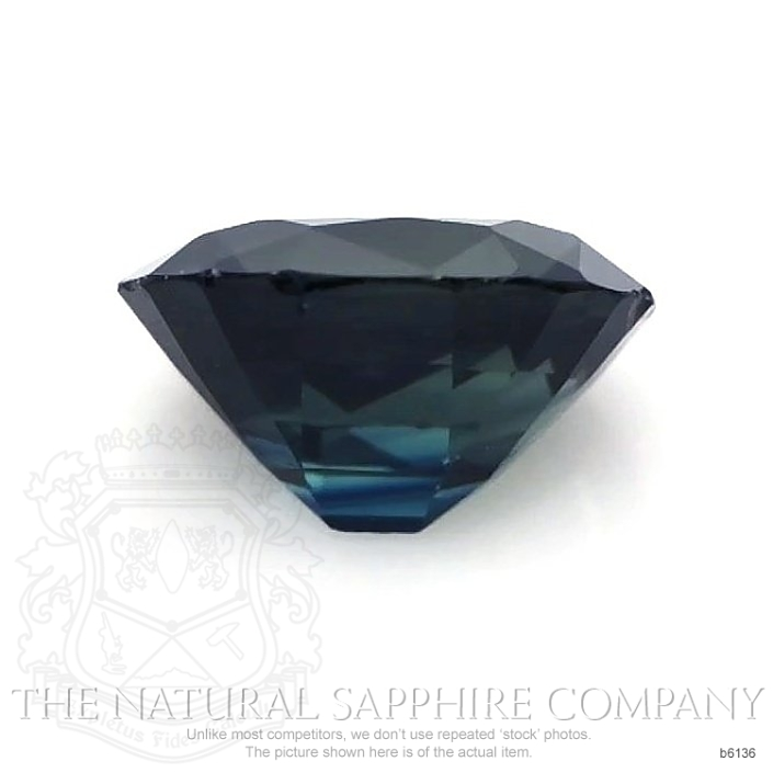 Natural Untreated Blue Sapphire B6136 Image 2