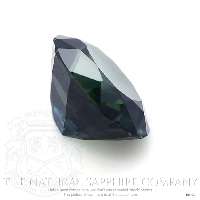 Natural Untreated Blue Sapphire B6136 Image 3