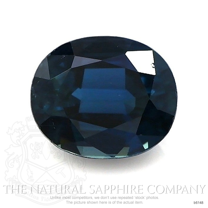 Natural Untreated Blue Sapphire B6148 Image