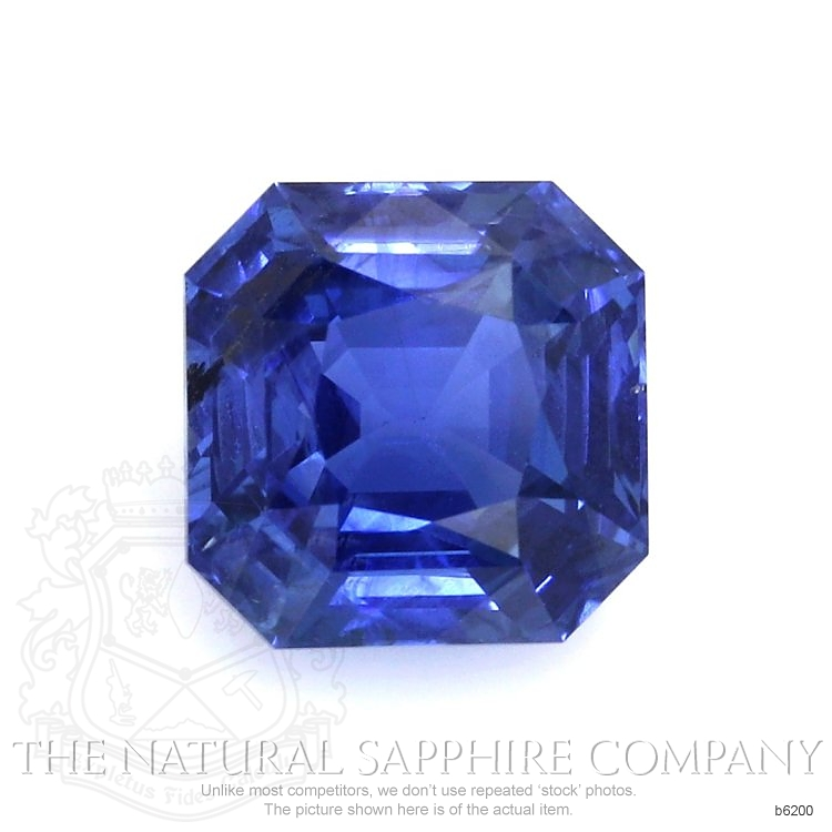 Natural Untreated Blue Sapphire B6200 Image