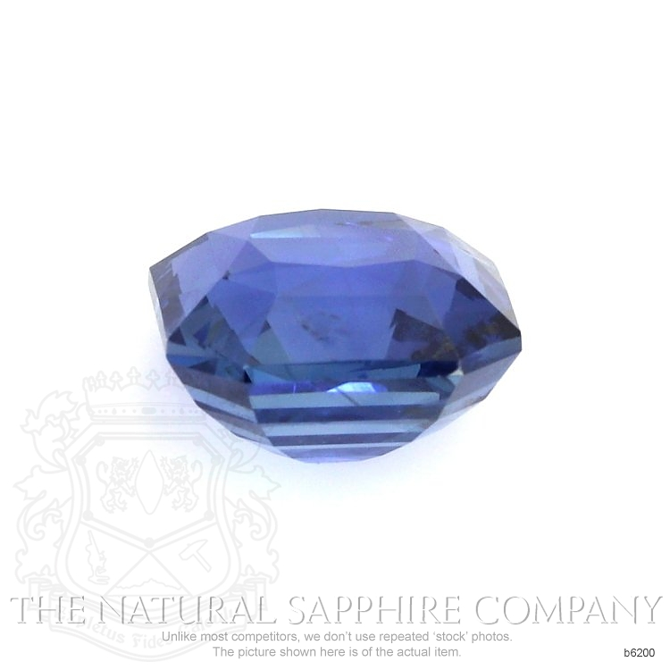 Natural Untreated Blue Sapphire B6200 Image 2