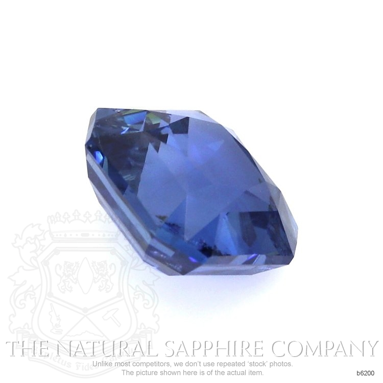 Natural Untreated Blue Sapphire B6200 Image 3