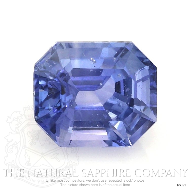 Natural Untreated Blue Sapphire B6321 Image