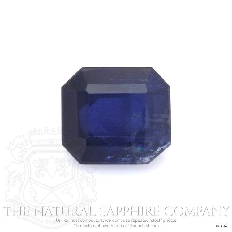 Natural Untreated Blue Sapphire B6404 Image