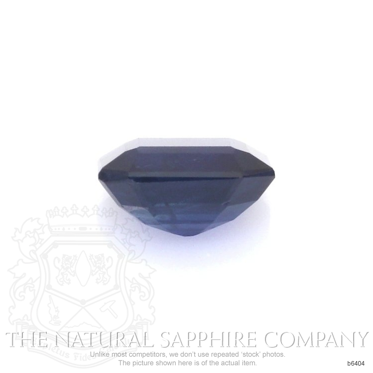 Natural Untreated Blue Sapphire B6404 Image 2