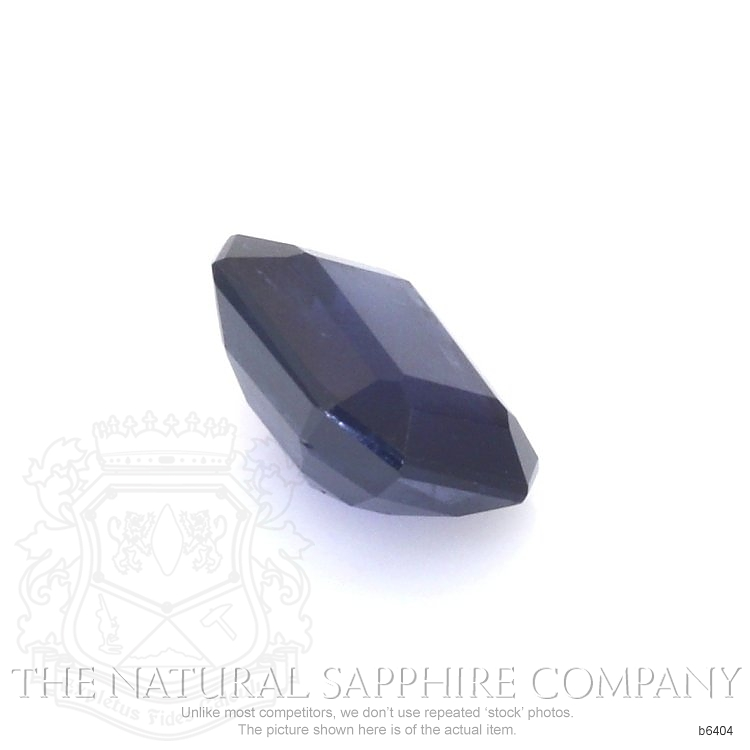Natural Untreated Blue Sapphire B6404 Image 3