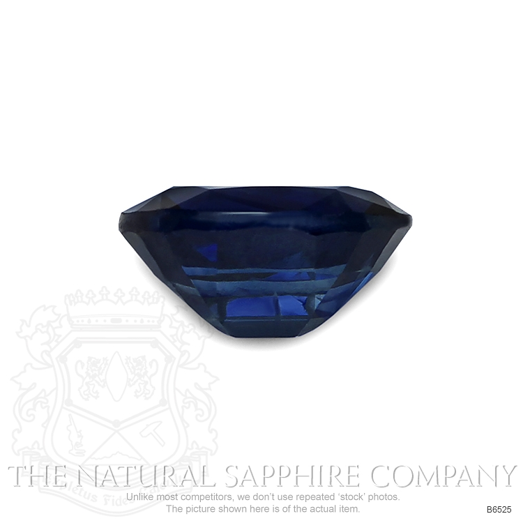 Natural Untreated Blue Sapphire B6525 Image 2
