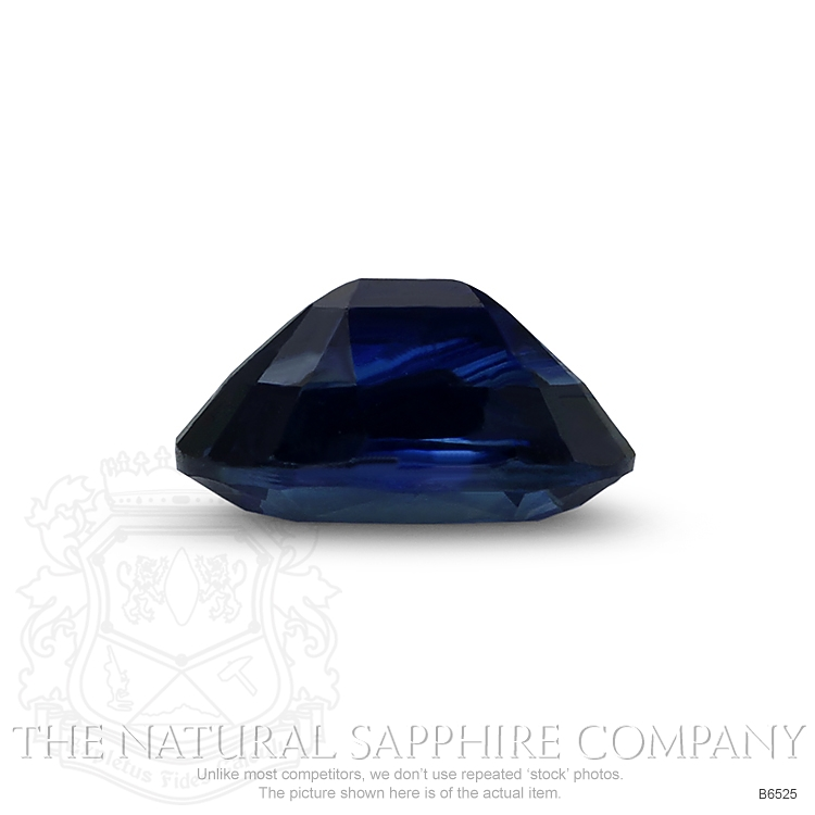Natural Untreated Blue Sapphire B6525 Image 3