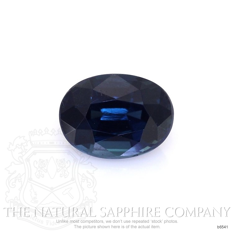 Natural Untreated Blue Sapphire B6541 Image