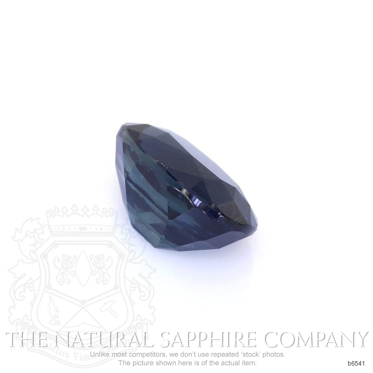 Natural Untreated Blue Sapphire B6541 Image 3
