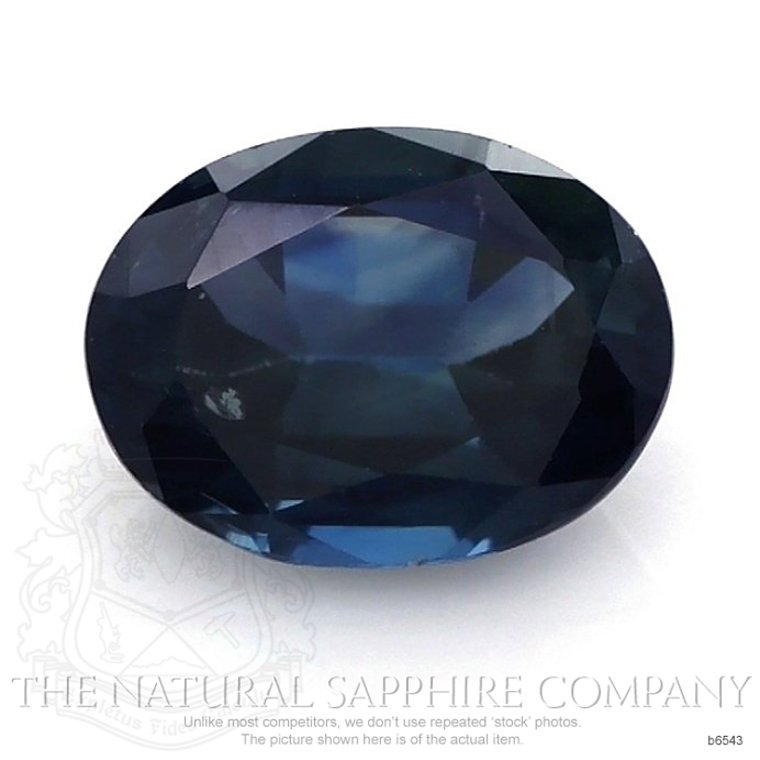 Natural Untreated Blue Sapphire B6543 Image