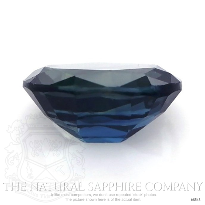 Natural Untreated Blue Sapphire B6543 Image 2