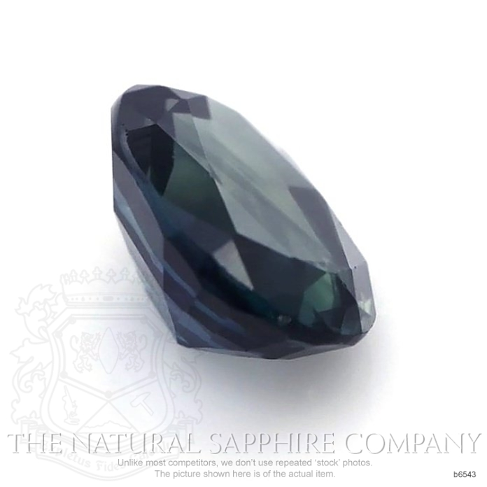 Natural Untreated Blue Sapphire B6543 Image 3