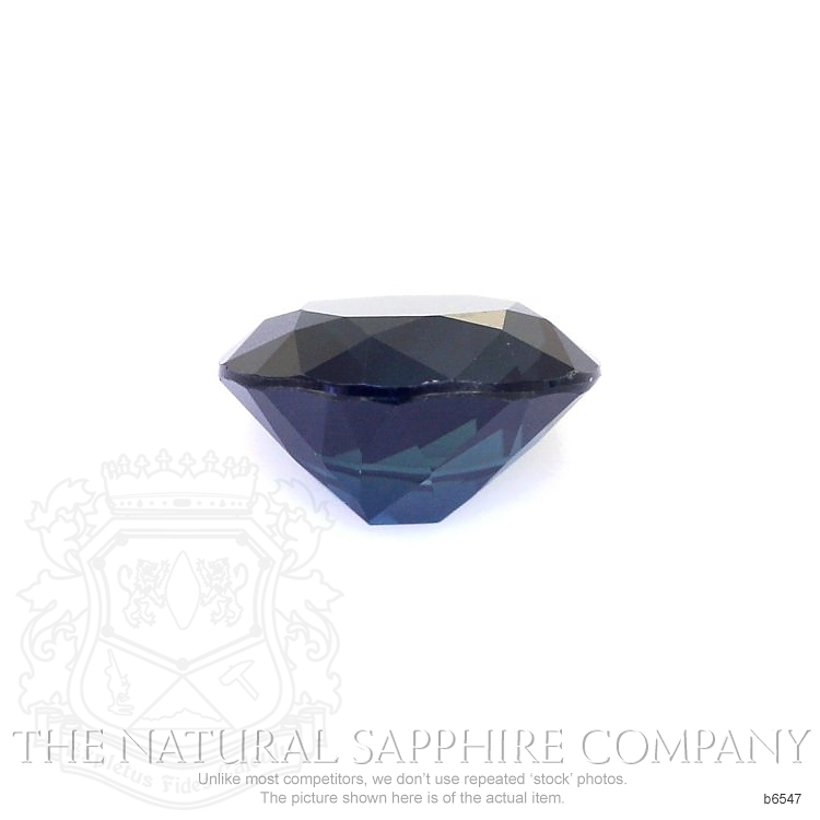 Natural Untreated Blue Sapphire B6547 Image 2