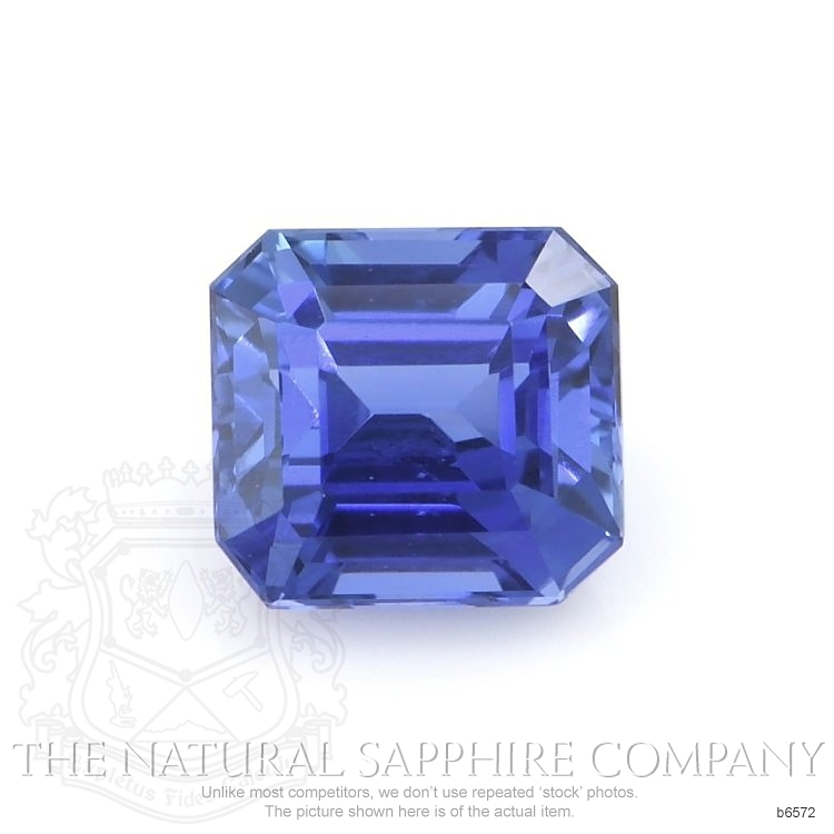 Natural Untreated Blue Sapphire B6572 Image