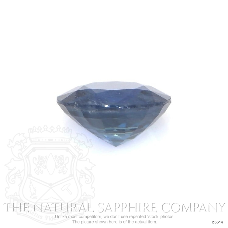 Natural Untreated Blue Sapphire B6614 Image 2