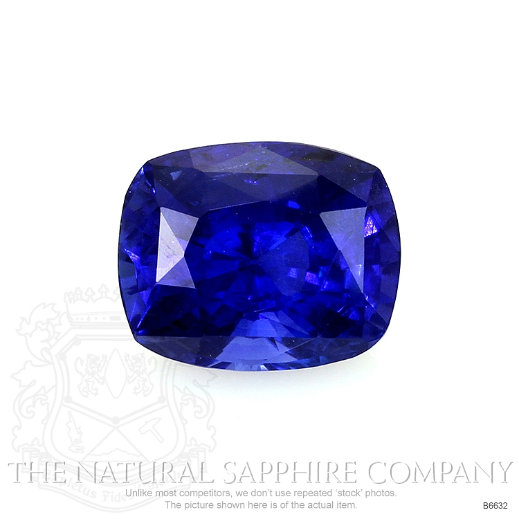 Natural Untreated Blue Sapphire B6632 Image