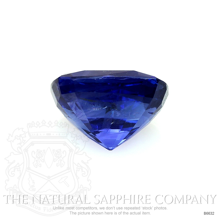 Natural Untreated Blue Sapphire B6632 Image 2