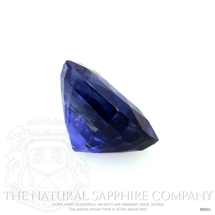 Natural Untreated Blue Sapphire B6632 Image 3