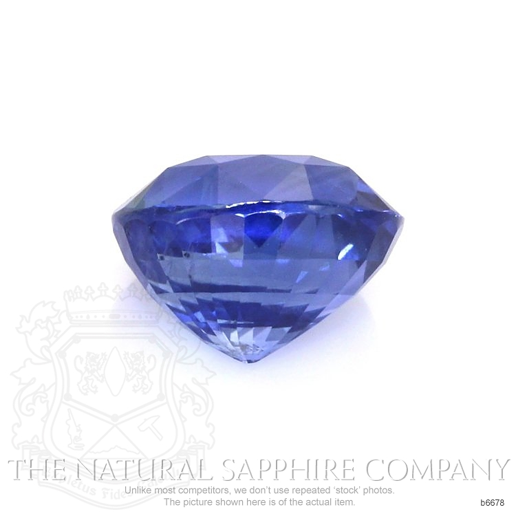 Natural Untreated Blue Sapphire B6678 Image 2