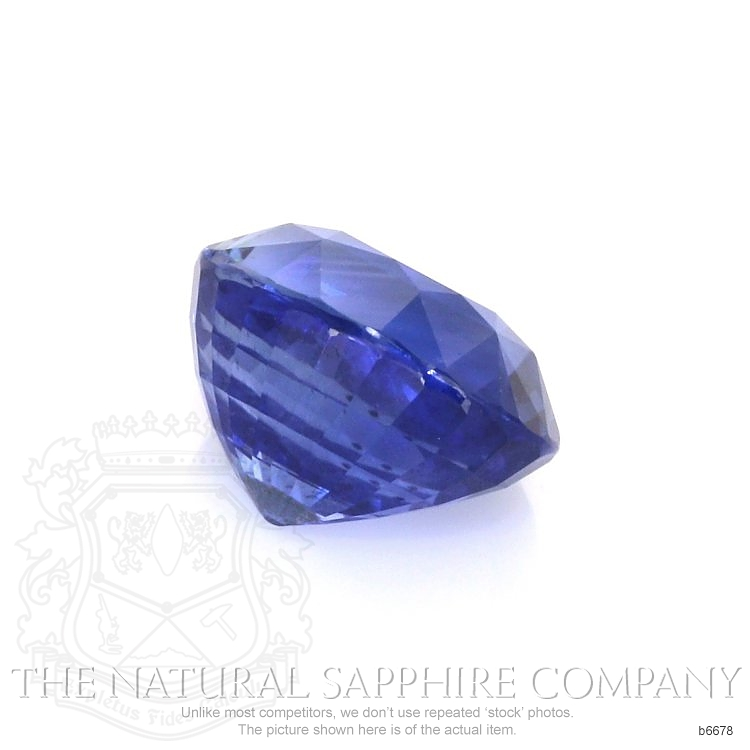 Natural Untreated Blue Sapphire B6678 Image 3
