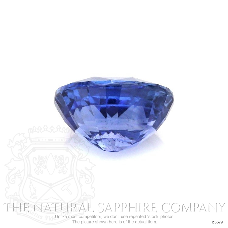 Natural Untreated Blue Sapphire B6679 Image 2