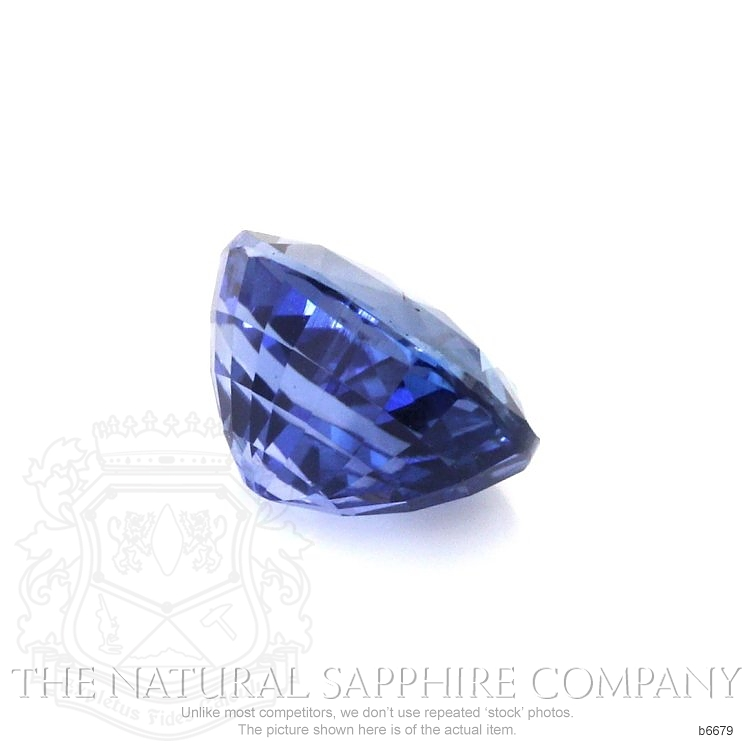 Natural Untreated Blue Sapphire B6679 Image 3