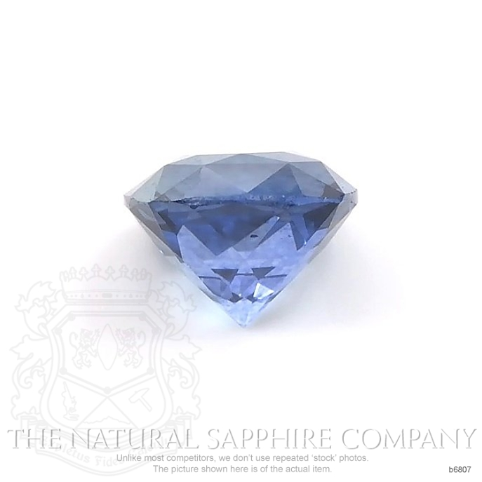 Natural Blue Sapphire B6807 Image 2