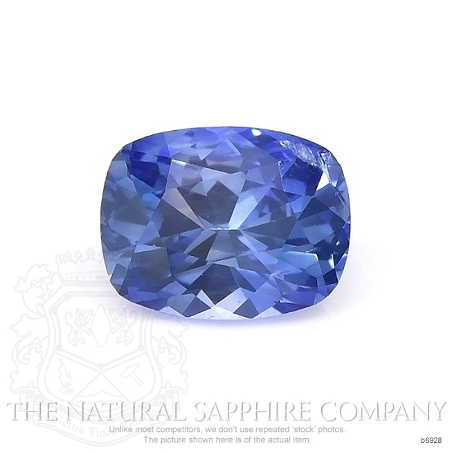 Natural Blue Sapphire B6928 Image