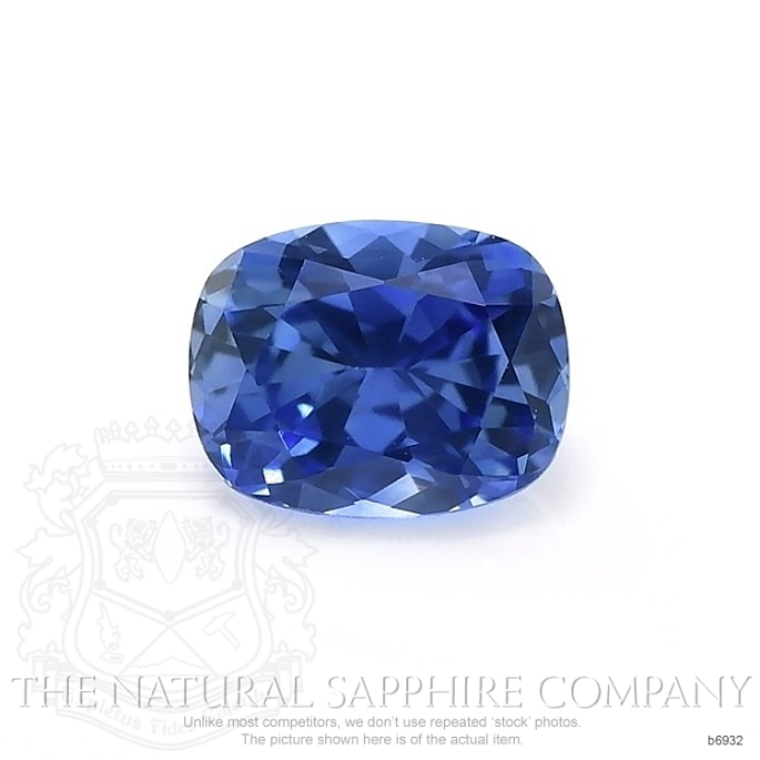 Natural Blue Sapphire B6932 Image