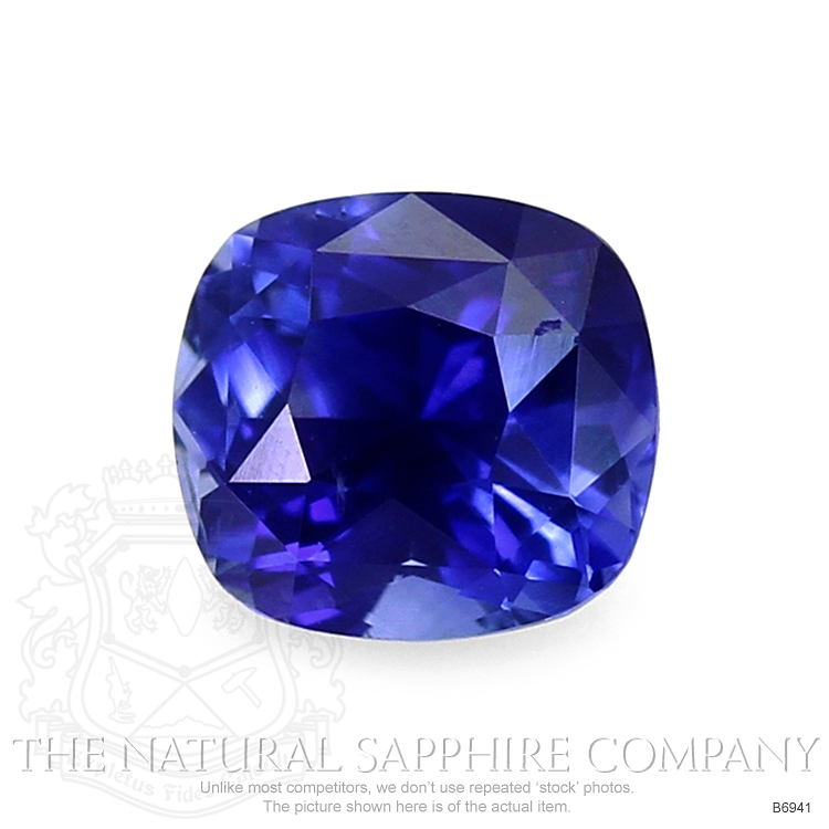 Natural Blue Sapphire B6941 Image