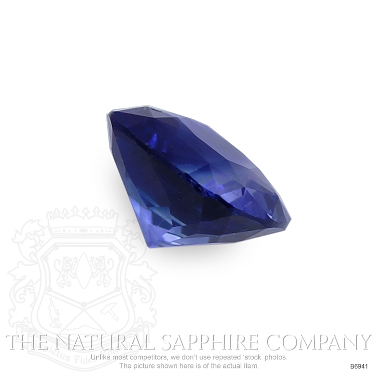 Natural Blue Sapphire B6941 Image 3