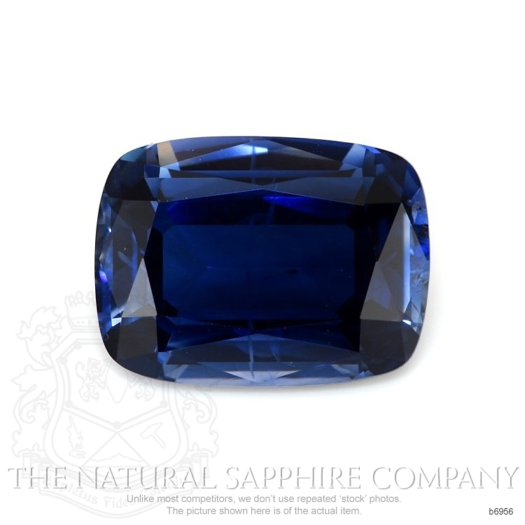 Natural Untreated Blue Sapphire B6956 Image