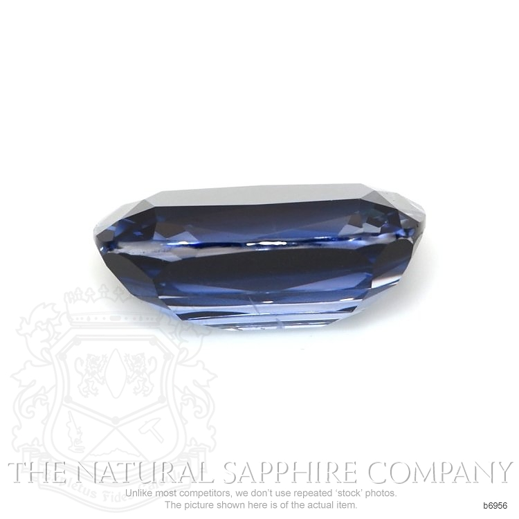 Natural Untreated Blue Sapphire B6956 Image 2