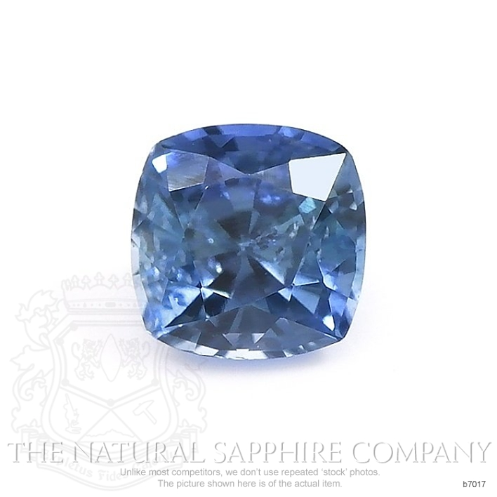 Natural Blue Sapphire B7017 Image