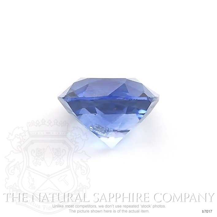 Natural Blue Sapphire B7017 Image 2