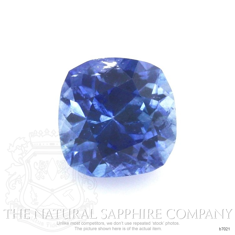 Natural Blue Sapphire B7021 Image