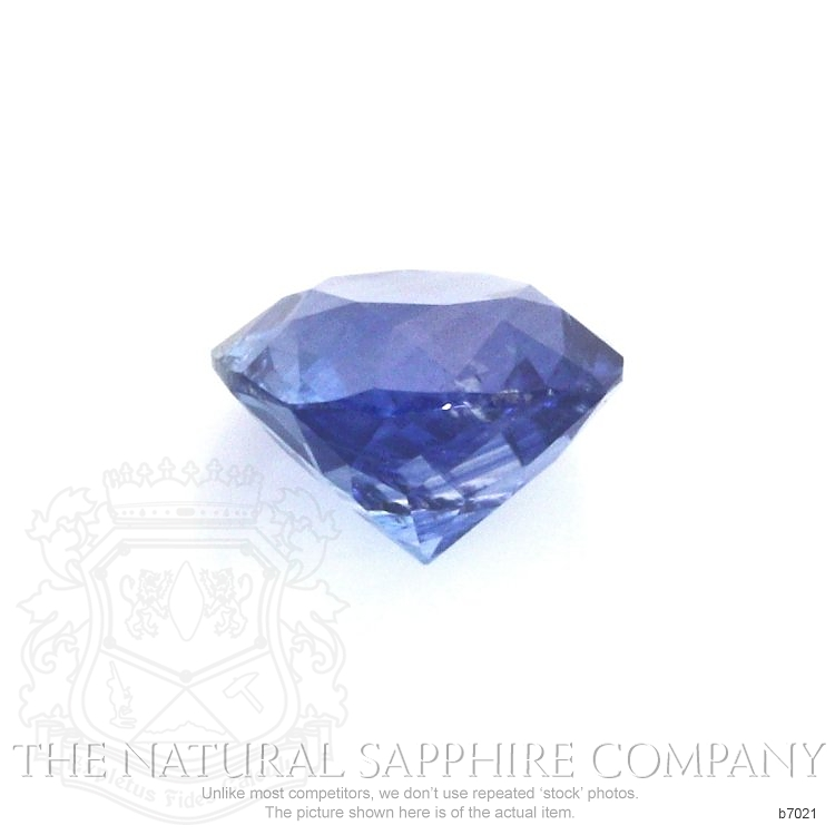 Natural Blue Sapphire B7021 Image 2