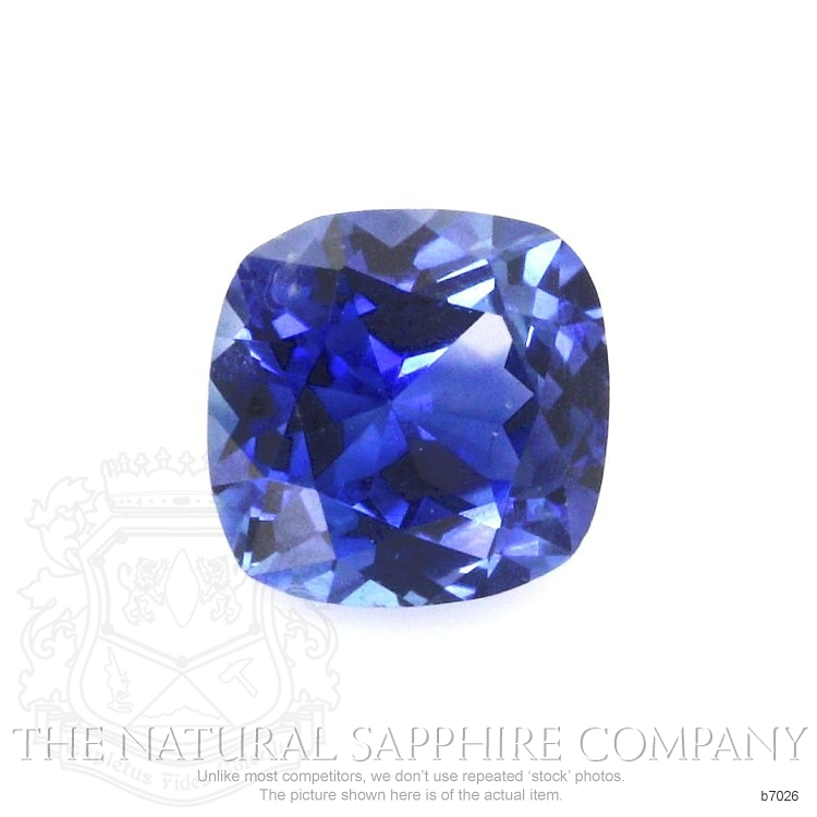 Natural Blue Sapphire B7026 Image