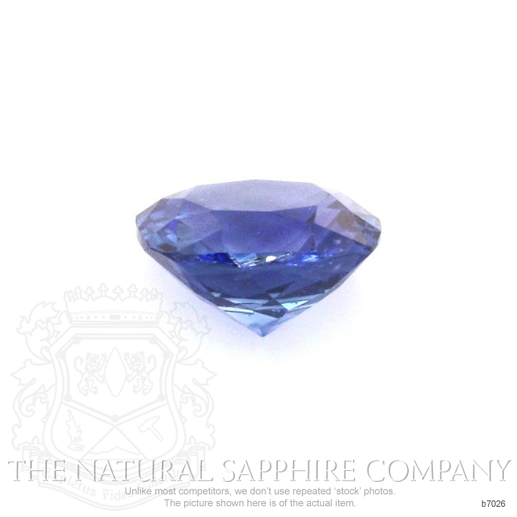 Natural Blue Sapphire B7026 Image 2